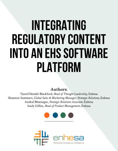 Integrating Regulatory Content